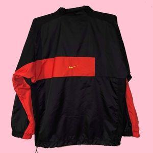 (M) Nike Windbreaker gold Check
